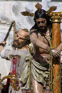 Santísimo Cristo Amarrado a la Columna de Estepa. Foto: Jaime Muñoz, Monete.