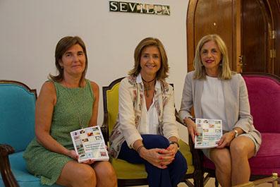 De izquierda a derecha, las doctoras Paloma Porras, presidenta de la SAMFyC; Dolores Javato, directora de Ventas de MSD; y Mercedes Martínez, presidenta de la SAC.