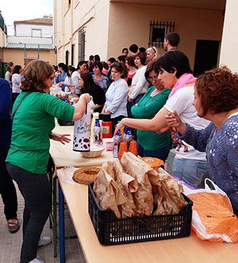 Imagen del desayuno celebrado con motivo de la semana cultural