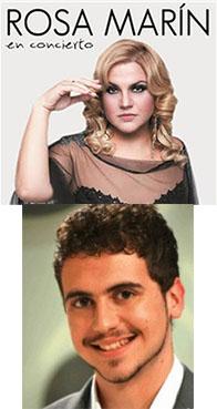 Rosa Marín e Ismael Carmona, ex concursantes de Se llama Copla