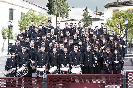 La banda Amigos de la Música de Estepa