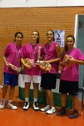 Space Jam, equipo campeón en la categoría sub-18 femenina