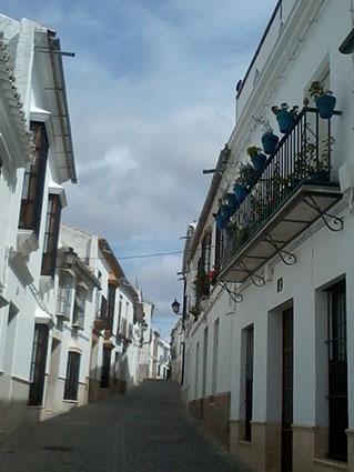 Una calle del casco histórico de Osuna. Foto: Remedios Camero.