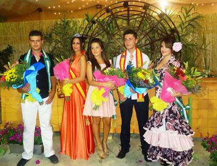 """Los """"guapos"""" oficiales de la Feria de Badolatosa 2014"""