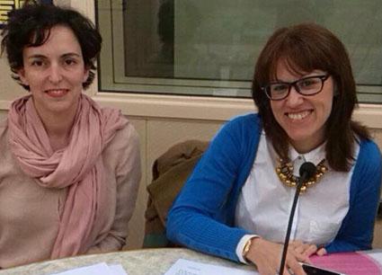 Las organizadoras del evento, en una reciente entrevista de radio. Foto: Facebook Cásate Conmigo.