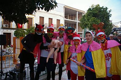Participantes en 2013 de la San Silvestre herrereña. Foto: Blog Deportes de Herrera.
