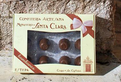 Caja de bombones de Santa Clara, una de las novedades del obrador conventual