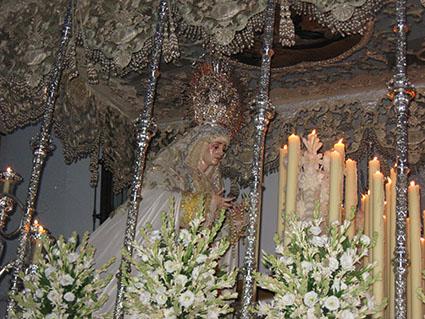 La Virgen de la Paz de Estepa. Foto: R. Camero.