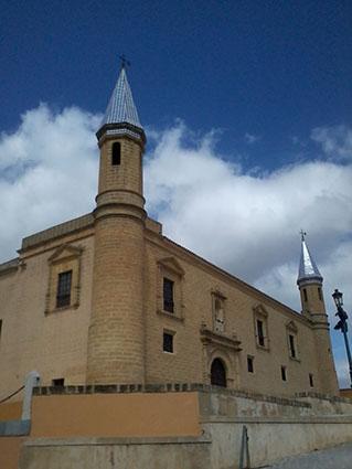 Edificio de la Universidad de Osuna. Foto: R. Camero.