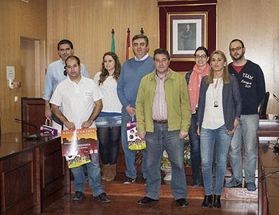 Ganadores de la Ruta de la Tapa, junto al alcalde de Estepa y la concejala de Turismo.