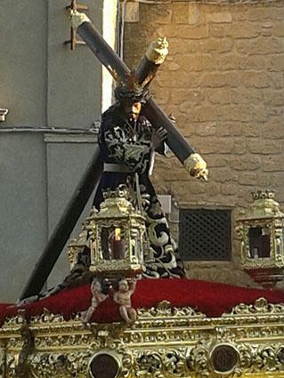 Jesús Nazareno de Osuna, en su procesión del Viernes Santo. Foto: R.P.R.