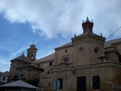 Iglesia de Santo Domingo, en 2014. Foto: Remedios Camero.