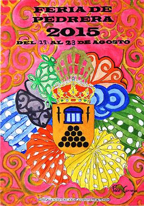 Cartel de la Feria de Pedrera, obra de Paco Cornejo Jiménez