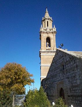 Torre de la Iglesia de Santa María. Foto: Remedios Camero.